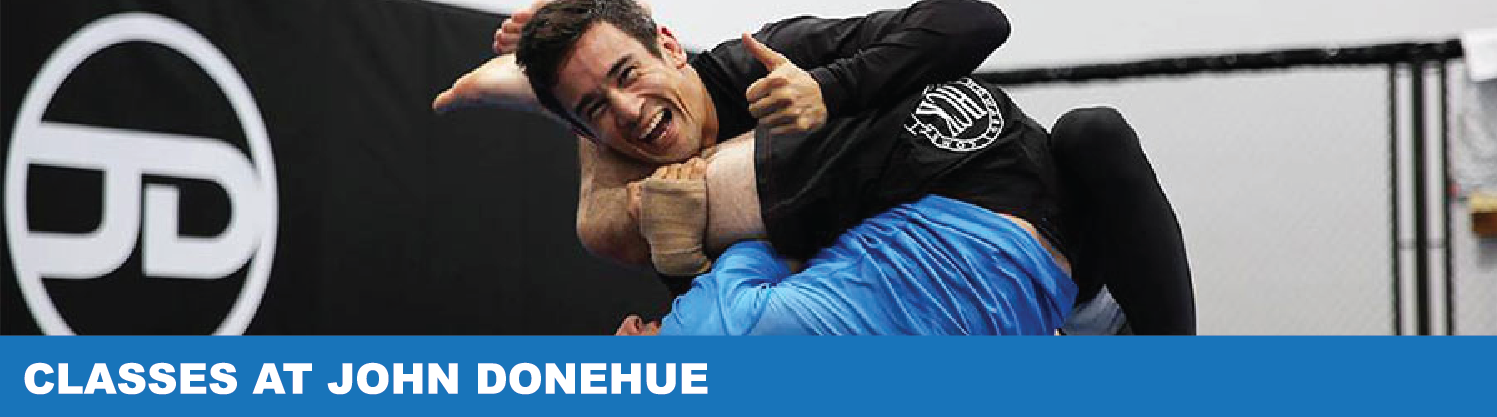 Classes at John Donehue Jiu Jitsu & MMA